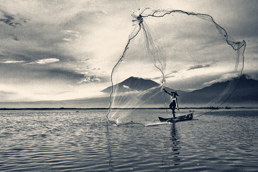 Why we are unique technology riwi for Throw nets for fishing