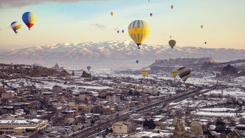 Turkey Hot air ballons